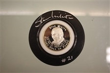 Stan Mikita Autographed Coin Puck