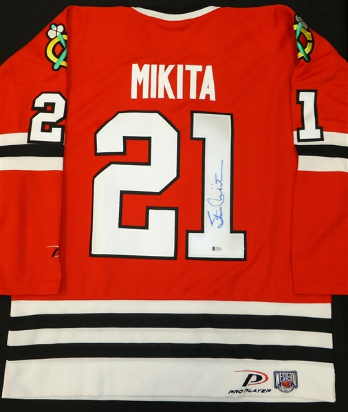Stan Mikita Autographed Jersey