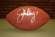 John Elway Autographed Official NFL Football