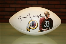 Sammy Baugh Autographed Hand Painted Football