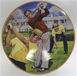 "Sam Snead Autographed 10"" Plate"