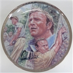 "Arnold Palmer Autographed 8"" Plate"