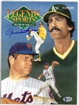 Rollie Fingers Autographed 1992 Legends Magazine
