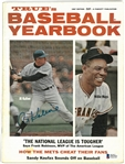 Al Kaline Autographed 1967 Baseball Yearbook