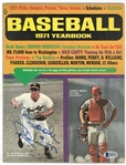 Brooks Robinson Autographed 1971 Baseball Yearbook