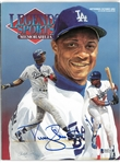 Darryl Strawberry Autographed 1992 Legends Magazine