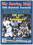 Alan Trammell Autographed 1985 Baseball Yearbook