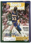 Magic Johnson Autographed 1992 Sports Illustrated