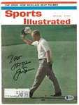 Jack Nicklaus Autographed 1962 Sports Illustrated