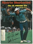 Hale Irwin Autographed 1974 Sports Illustrated