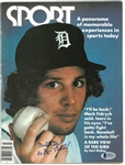 "Mark ""The Bird"" Fidrych Autographed 1977 Sport Magazine"