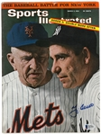 Yogi Berra Autographed 1964 Sports Illustrated