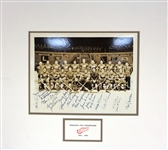 1936 Red Wings Team Signed Photo - First Stanley Cup!