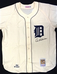 Al Kaline Autographed 1968 Home Tigers Jersey
