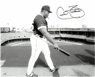 Cecil Fielder Autographed 16x20 Photo - Roof of Tiger Stadium