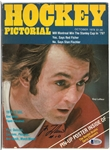 Guy Lafleur Autographed 1978 Hockey Pictorial Magazine