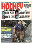 Eddie Giacomin Autographed 1968 Hockey Illustrated Magazine