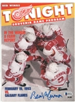 Brad McCrimmon Autographed 1993 Red Wings Program