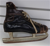 Red Kelly Autographed Vintage Hockey Skate