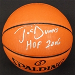 Joe Dumars Autographed Basketball