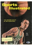 Bob Cousy Autographed 1961 Sports Illustrated