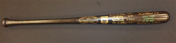Triple Crown Winners Limited Edition Louisville Slugger Bat