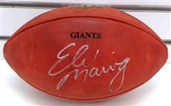 Eli Manning Autographed NFL Giants Football