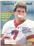 Joe Theismann Autographed 1984 Sports Illustrated