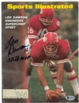 Len Dawson Autographed 1970 Sports Illustrated