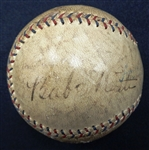 Babe Ruth/Lou Gehrig Autographed Official American League Baseball - Beckett