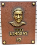 Ted Lindsay Bust from Olympia Stadium