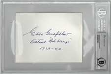 Ebbie Goodfellow Signed Cut