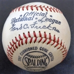 1949-1951 Ford Frick Spalding  Official National League Baseball