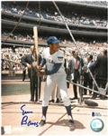 Ernie Banks Autographed 8x10 Photo