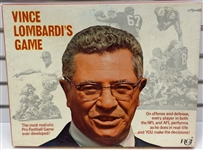 Vince Lombardis Football Board Game