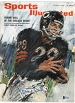 Ronnie Bull Autographed 1963 Sports Illustrated