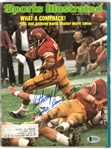 Anthony Davis Autographed 1974 Sports Illustrated