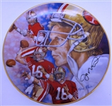 "Joe Montana 8"" Collectors Plate"
