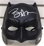 Ben Affleck Signed Batman Black Batman vs Superman Mask