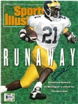 Desmond Howard Autographed 1991 Sports Illustrated
