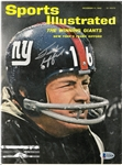 Frank Gifford Autographed 1962 Sports Illustrated