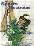 Tommy McDonald Autographed 1962 Sports Illustrated