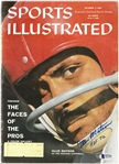 Ollie Matson Autographed 1957 Sports Illustrated