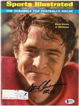 Steve Owens Autographed 1969 Sports Illustrated
