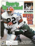 Ozzie Newsome Autographed 1987 Sports Illustrated