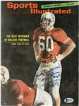 Tommy Nobis Autographed 1965 Sports Illustrated