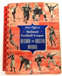 1942 NFL Records and Rules Manual