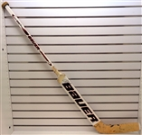 Curtis Joseph Game Used Autographed Stick