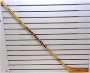 Sid Abel Autographed Northland Stick
