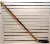 Nick Libett Game Used Autographed Stick